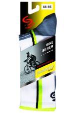 Skarpetki rowerowe BIKE DEODORANT SILVER antyzapachowe ze srebrem