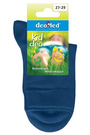 KID DEO antyzapachowe skarpetki dziecięce z bawełny czesanej