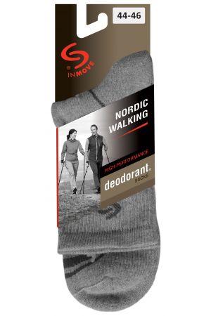 Skarpetki trekkingowe NORDIC WALKING DEODORANT antyzapachowe z Coolmaxem